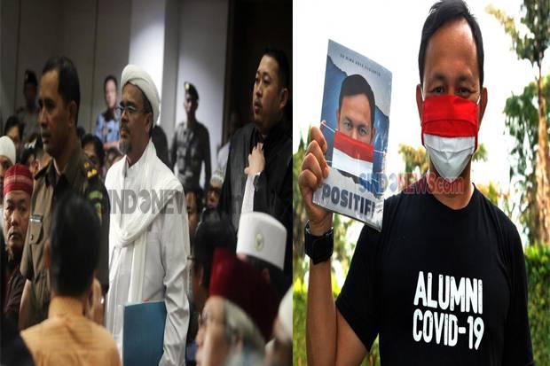 Unjuk Rasa Bebaskan Habib Rizieq di Bogor, Massa Desak Bima Arya Bertanggung Jawab