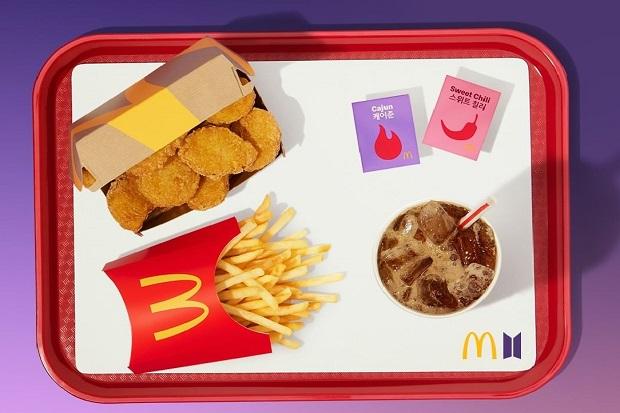 Imbas Antrean BTS Meal Membludak, McDonalds Terapkan Buka Tutup Order
