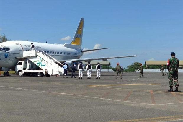 Latihan Gabungan Penanganan Pesawat Ilegal Digelar di Lanud Sultan Hasanuddin
