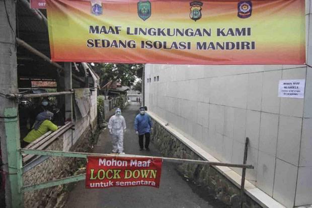 7 Warga Jalani Isolasi Mandiri, Lockdown Mikro di Cilangkap Masih Berlangsung