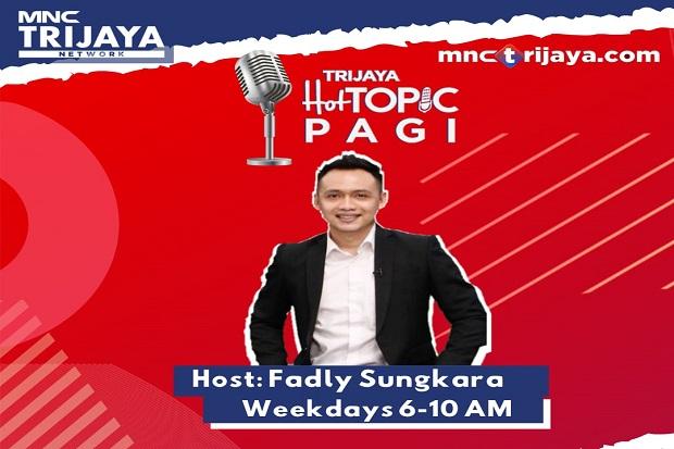 Presenter Fadly Sungkara Jadi Penyiar Pagi Trijaya FM