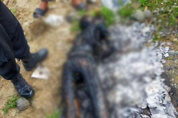 Warga Mallawa Digegerkan dengan Penemuan Mayat yang Terbakar