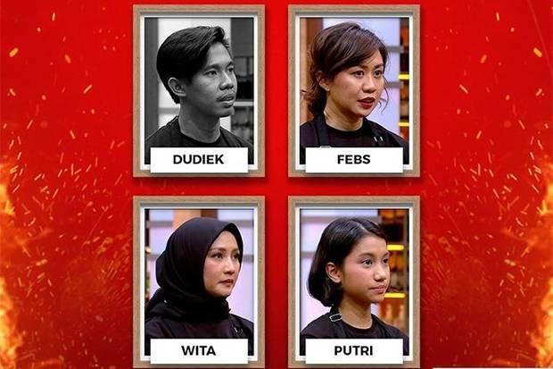 Gagal Mengolah Saus, 4 Peserta MasterChef Indonesia Ini Masuk Pressure Test