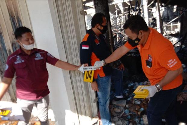 Minimarket di Sudiang Dibakar Karyawan Sendiri, Pelaku Bawa Kabur Rp58 Juta