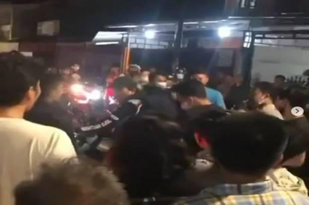 Bogem hingga Helm Mendarat di Wajah Maling Motor di Koja Jakut
