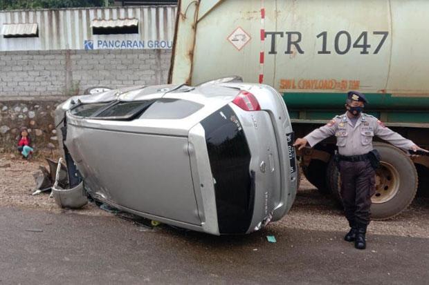 Kecelakaan Tunggal di Wasuponda, Sopir Mobil Selamat