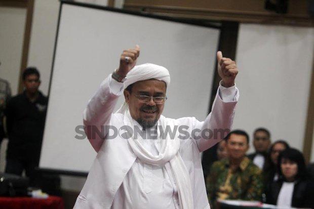 Sidang Lanjutan Habib Rizieq, Agenda Pembacaan Duplik Kasus RS Ummi Bogor
