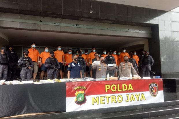 Berkedok Pengamanan, 24 Preman di Tanjung Priok Diringkus Polisi