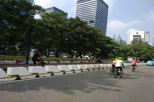 Mardani Kritik Rencana Pembongkaran Jalur Sepeda karena Polusi di Jakarta Mengkhawatirkan