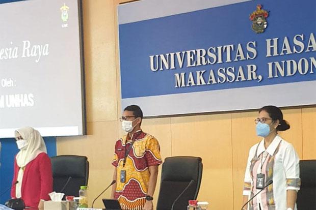 Sandiaga Uno Sebut Universitas Hasanuddin Pencetak Tokoh Nasional