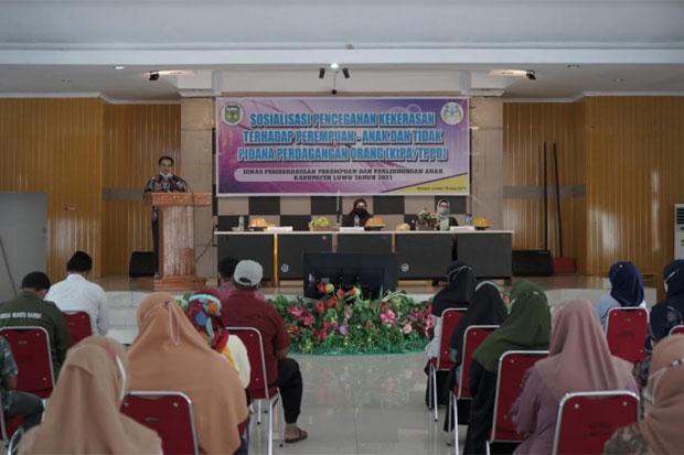 DP3A Luwu Cegah Tindak Kekerasan Perempuan dan Anak