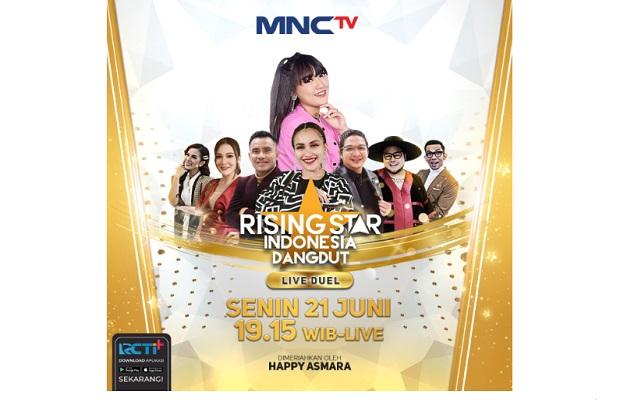 Sengit dan Ketat! Siapakah yang akan Lolos dari Babak Live Duel di Rising Star Indonesia Dangdut Kali ini?