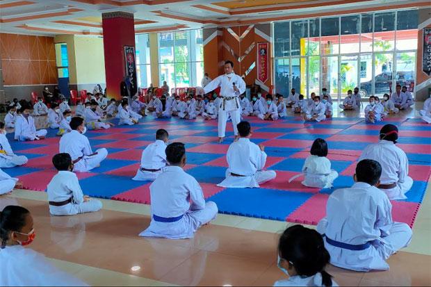Karate-Do Gojukai Palopo dan Luwu Laksanakan Ujian Penurunan Kyu