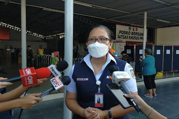 Rapid Test Antigen di Stasiun Bogor, 1 Penumpang Commuter Line Positif COVID-19