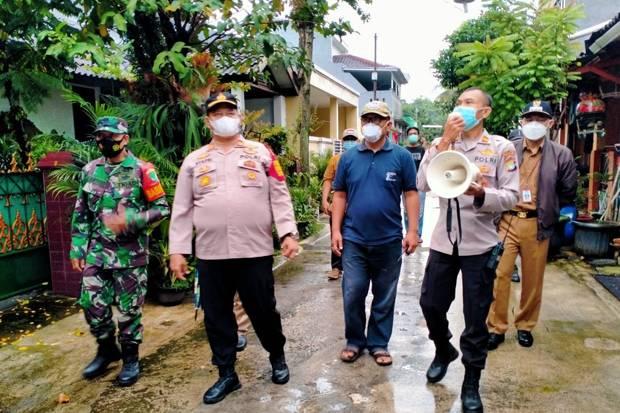 28 Warga Terpapar Covid-19, Perumahan Taman Cipayung Depok Terapkan Mikro Lockdown