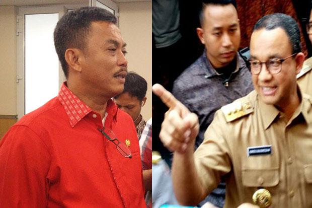 Anies Terlihat Ngotot Jadi Capres 2024, Ketua DPRD DKI Sentil sang Gubernur Pakai Pantun