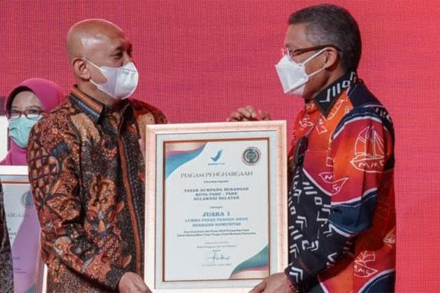 Pasar Sumpang Minangae Parepare Jadi Pasar Pangan Aman Terbaik Nasional