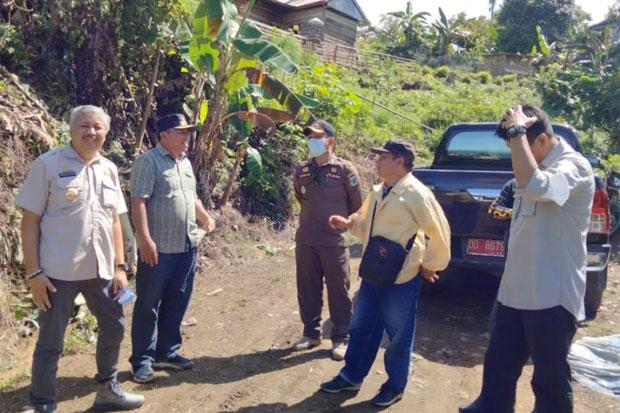 Bupati Pinrang Tinjau Lokasi Longsor di Desa Sali-sali Lembang