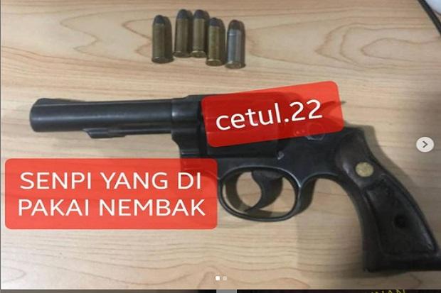 Remaja Ditembak di Tamansari, Netizen: Yang Pakai Revolver Biasanya Para Suhu