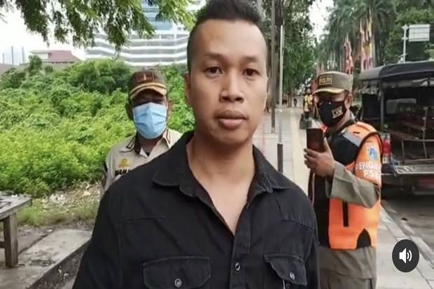 Ngeyel! Yusuf Syeh Warga Petojo Sebut Corona di Indonesia Sudah Berakhir