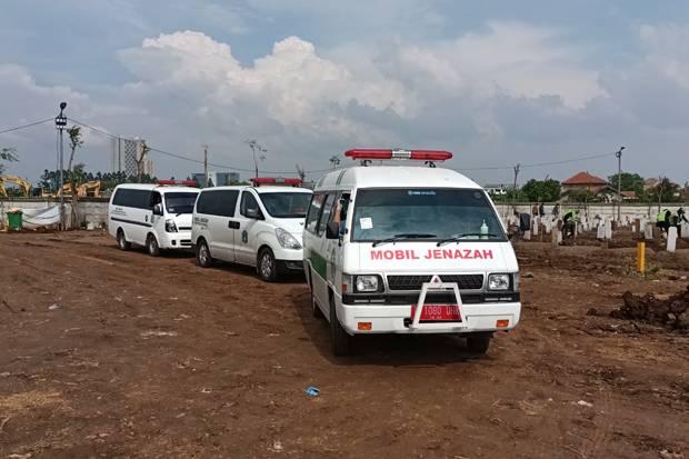 3 Hari Terakhir, 462 Jenazah Pasien Covid-19 Dimakamkan di Jakarta