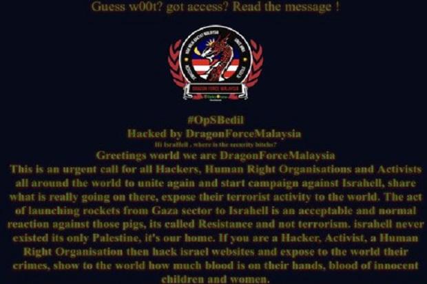 Hacker Malaysia Pro-Palestina Bocorkan Data 280.000 Mahasiswa Israel