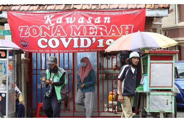 55 RT di DKI Jakarta Masuk Zona Merah Covid-19, Ini Daftarnya