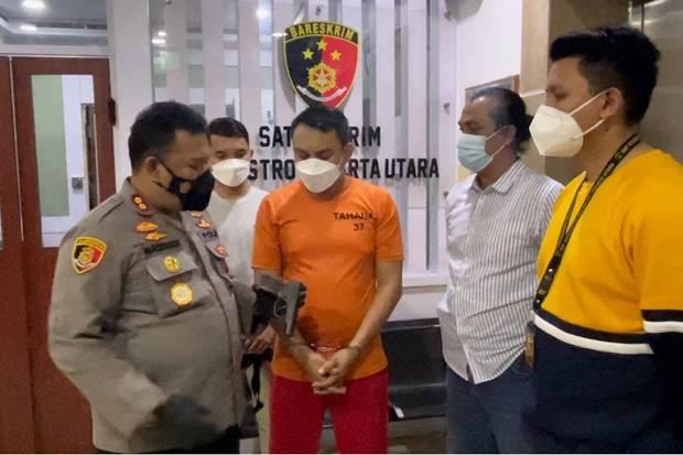 Polisi Temukan Pistol Pengemudi Pajero untuk Takuti Sopir Truk Tanjung Priok