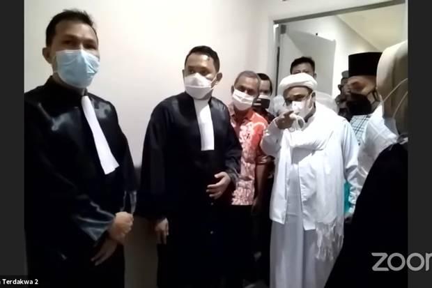 Habib Rizieq dan Jaksa Penuntut Umum Akan Berhadapan Lagi di Pengadilan Tinggi DKI