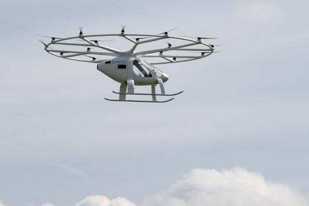 Volocopter Kantongi Izin untuk Produksi Taksi Udara dari Uni Eropa