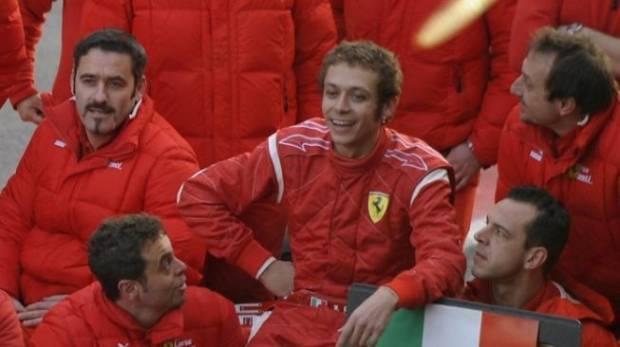 Ferrari Tutup Pintu buat Valentino Rossi di Proyek Mobil Hyper