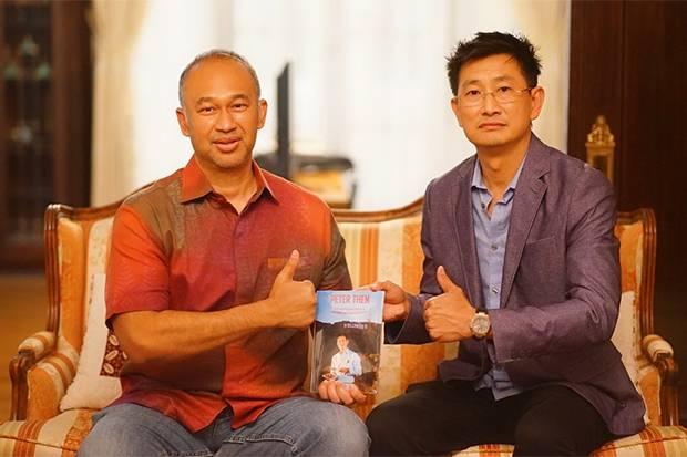Peter Then Pemilik Restoran Michelin Guide asal Indonesia di Amerika Rilis Buku Perjalanan Suksesnya