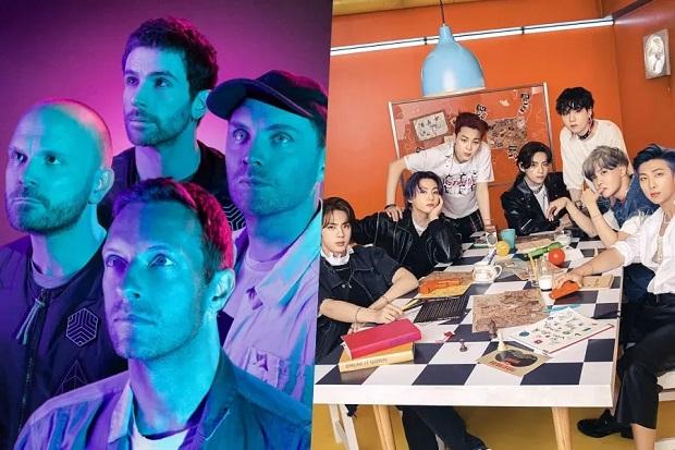 BTS Dikabarkan Tampil di Lagu Baru Coldplay, Suara Jungkook Bocor