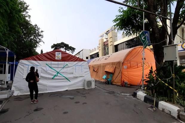 Tenda Darurat RSUD Kota Bekasi Kosong, Rahmat Effendi Sedikit Bernafas Lega