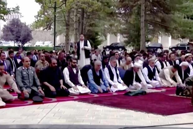 Ibu Kota Aghanistan Dihujani Roket Saat Presiden Ghani Shalat Idul Adha