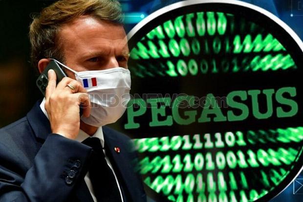 Ponsel Presiden Prancis Jadi Target Spyware Pegasus Besutan Israel