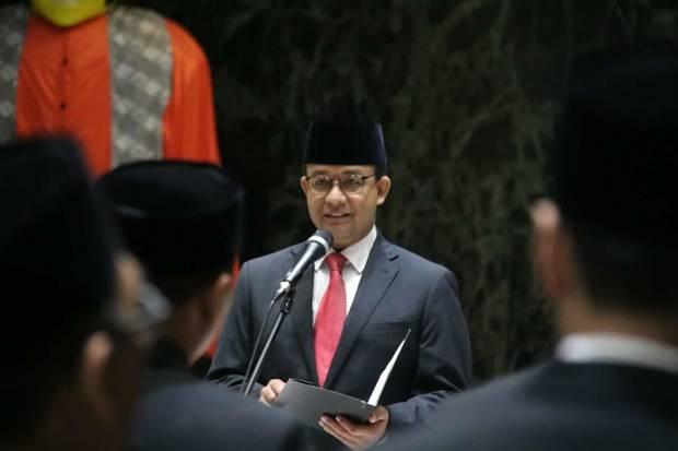 Terbitkan Kepgub, Anies Putuskan DKI Jakarta Wilayah PPKM Level 4