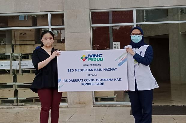 MNC Peduli Salurkan Medical Bed dan Hazmat untuk RSPJ Ekstensi Covid-19 Arafah Asrama Haji