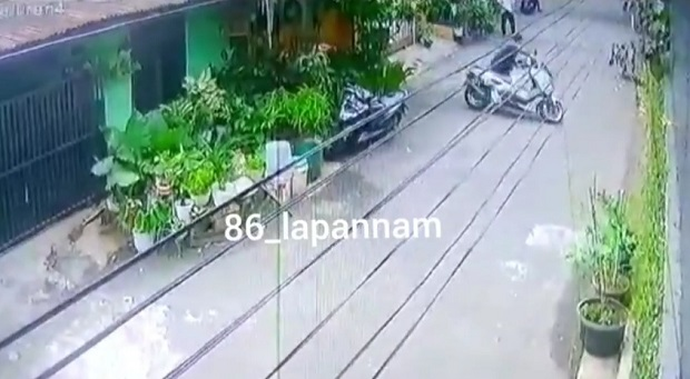 Maling Motor Gasak NMAX di Komplek CPM Kodam Pesanggrahan