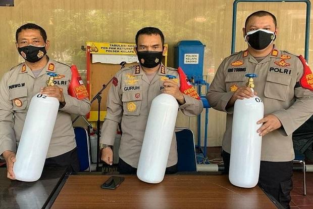 Polsek Kelapa Gading Sediakan Peminjaman Tabung Oksigen Gratis