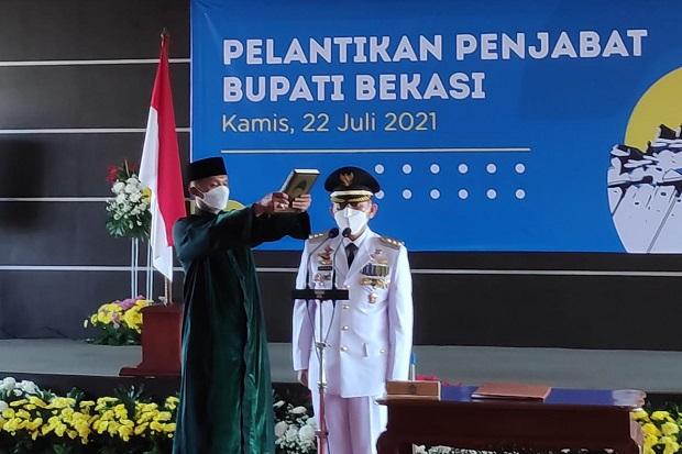 Dani Resmi Dilantik Jadi Penjabat Bupati Bekasi, Ini Sederet Permintaan Ridwal Kamil