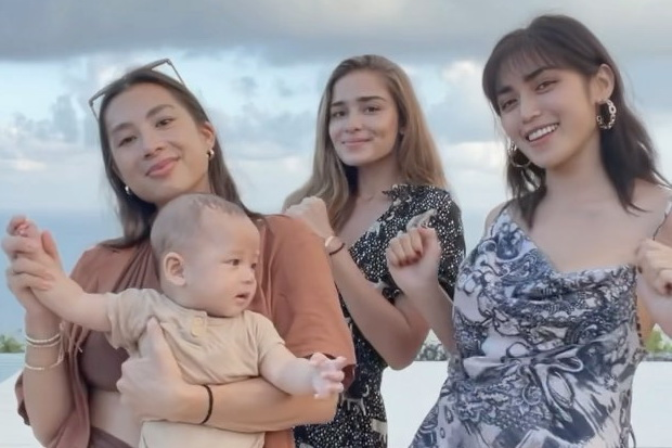 Jedar dan 2 Mama Muda Joget Cantik, Netizen: Charlie Angel versi Indonesia