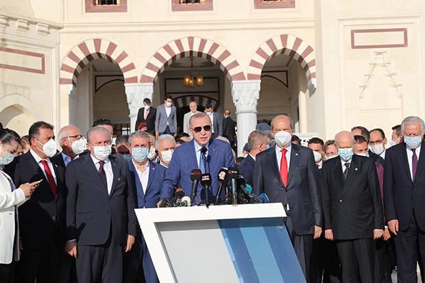Erdogan: Bergabungnya Siprus ke NATO Harus Seizin Turki
