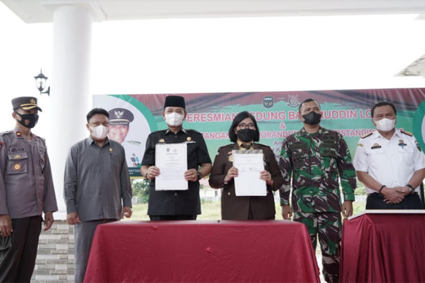 Nama Baharuddin Lopa Diabadikan Jadi Nama Gedung Kejari Luwu