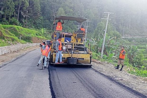 Pemprov Sulsel Pastikan Pembangunan Infrastruktur Toraja Utara Dilanjut