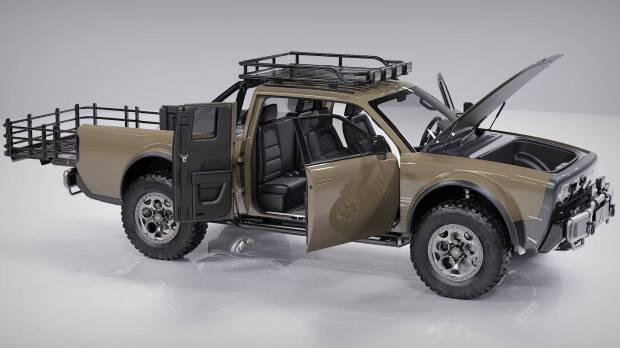 Alpha Motor Hadirkan Pickup Super Keren Wolf dan Wolf+