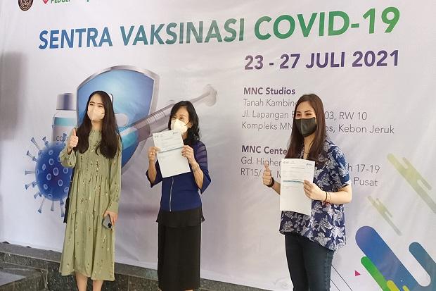 Kemenparekraf dan MNC Peduli Hadirkan Sentra Vaksinasi Covid-19
