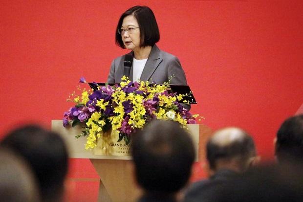 Meski Benci, China Berterima Kasih kepada Presiden Taiwan Tsai Ing-wen