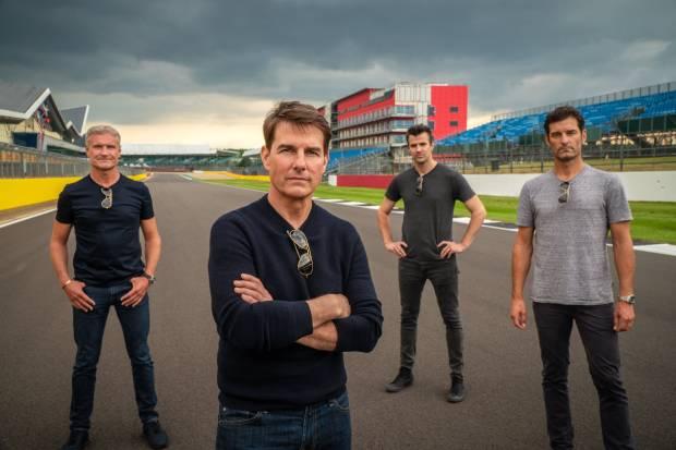 Tom Cruise dan Legenda F1 Reka Ulang Film Top Gun dengan Porsche 911