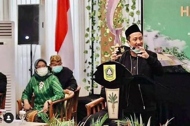 Berdoa Ustaz Yusuf Mansur Selalu Sehat, Ini Keinginan Bupati Bogor yang Belum Kesampaian
